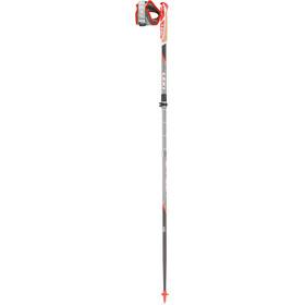 LEKI Micro Trail Vario - Bastones - plegable rojo/negro